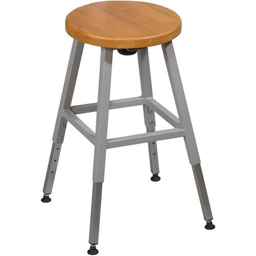 Balt Lab Stool without Back , Model 34419R (Gray) 34419R