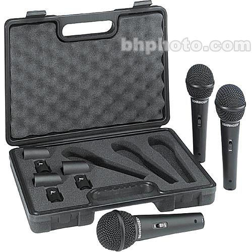 Behringer EXM-1800S Handheld Microphone (3-Pack) XM1800S