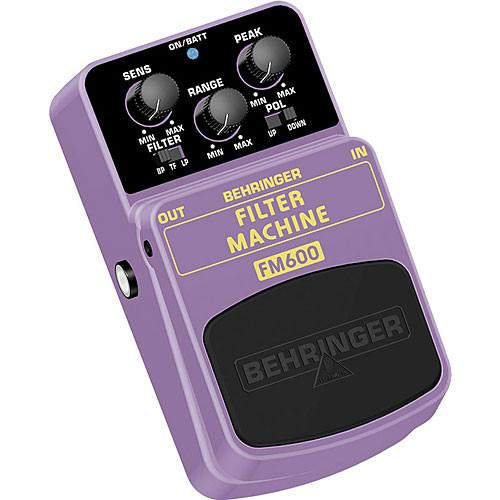 Behringer FM600 Ultimate Filter Modeling Effects Pedal FM600