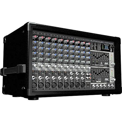 Behringer PMP2000 - 10-Channel Audio Mixer PMP2000