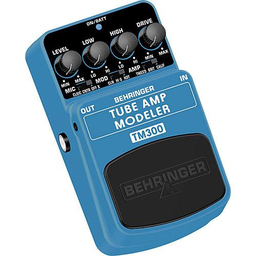 Behringer TM300 - Tube Amp Modeling Effects Pedal TM300