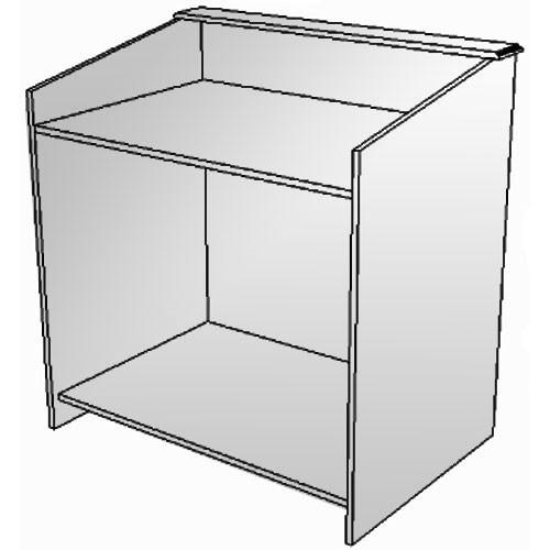 BEI Audio Visual Products Multimedia Lectern - Basic 5045031