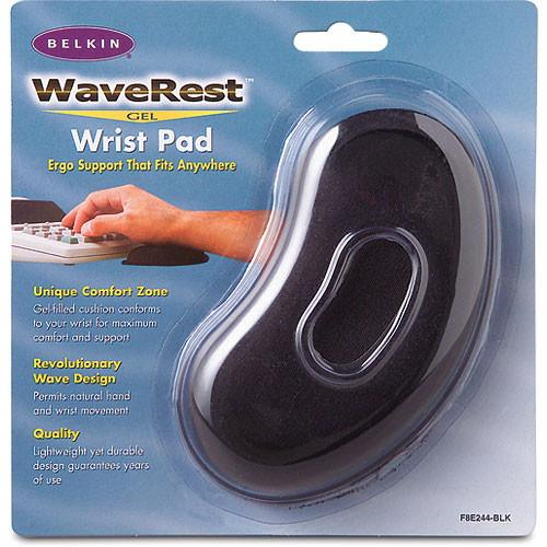 Belkin  WaveRest Gel Wrist Pad (Black) F8E244-BLK