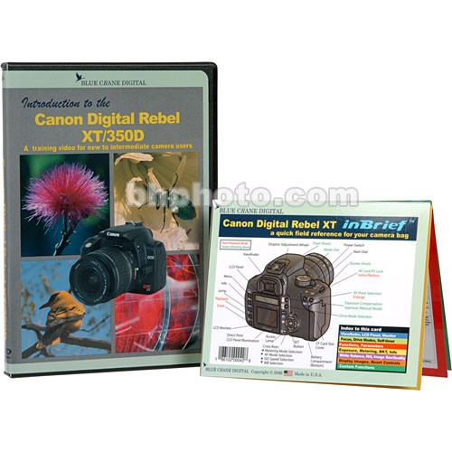 Blue Crane Digital DVD and Guide: Combo Pack for the Canon BC603