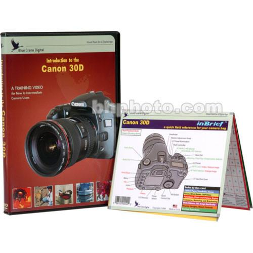 Blue Crane Digital DVD and Guide: Combo Pack for the Canon BC607