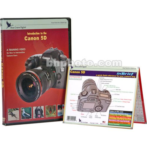 Blue Crane Digital DVD and Guide: Combo Pack for the Canon BC608