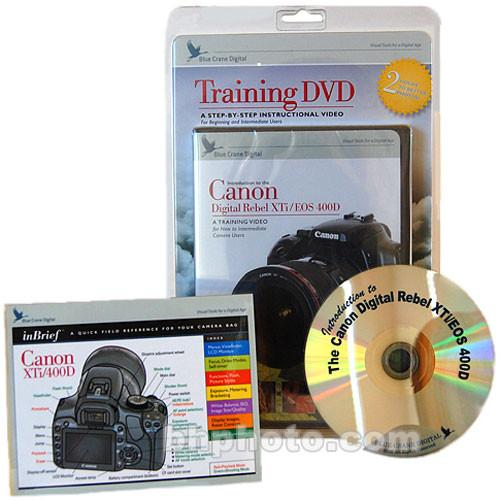 Blue Crane Digital DVD and Guide: Combo Pack for the Canon BC612