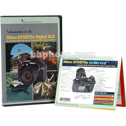 Blue Crane Digital DVD and Guide: Combo Pack for the Nikon BC601