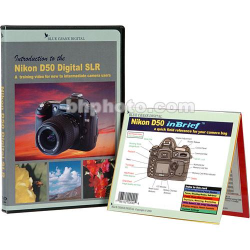 Blue Crane Digital DVD and Guide: Combo Pack for the Nikon BC605