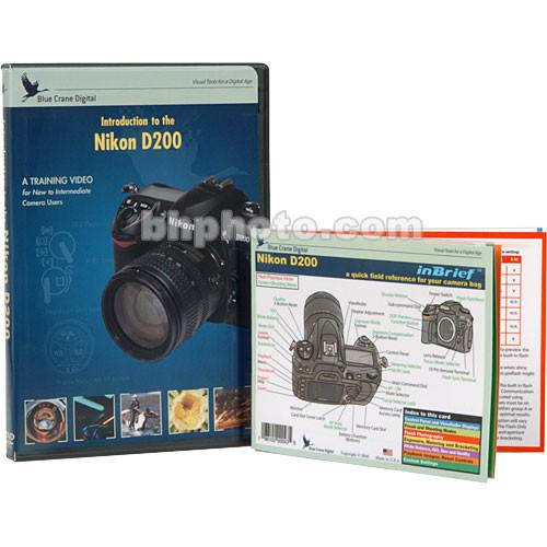 Blue Crane Digital DVD and Guide: Combo Pack for the Nikon BC606