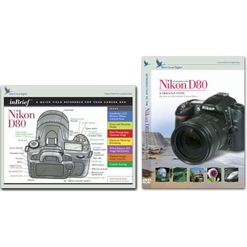 Blue Crane Digital DVD and Guide: Combo Pack for the Nikon BC611