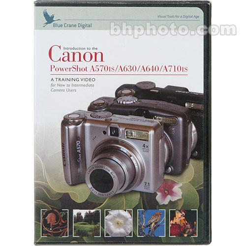 Blue Crane Digital DVD: Training DVD for the Canon BC701