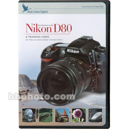 Blue Crane Digital DVD: Training DVD for the Nikon D80 BC111