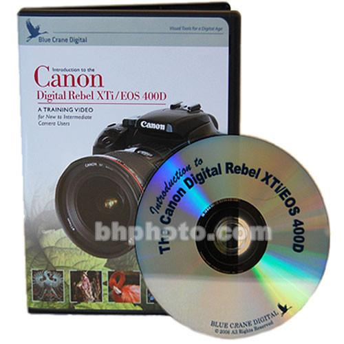 Blue Crane Digital DVD: Training Guide for the Canon BC112