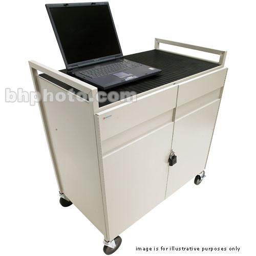 Bretford LAPTG15SA-GM 15 Unit Laptop Cart LAPTG15SA-GM