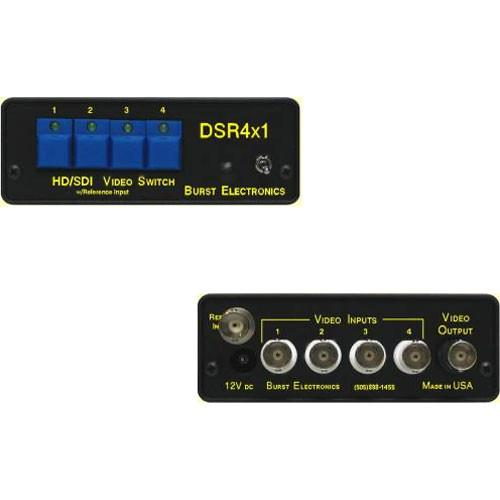Burst Electronics DSR4x1 SD/HD-SDI Switcher DSR4X1