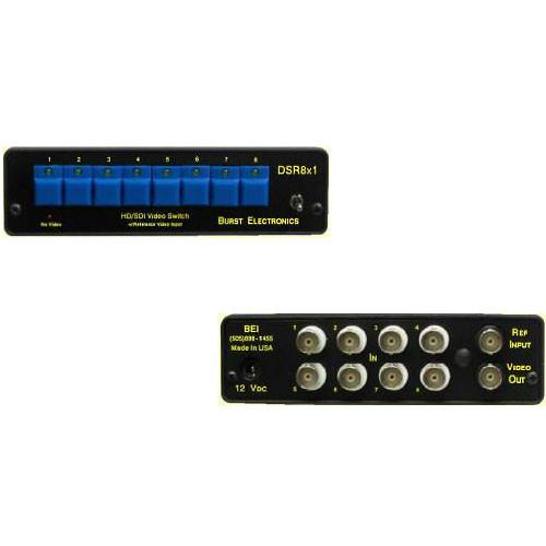 Burst Electronics DSR8x1 SD/HD-SDI Switcher DSR8X1