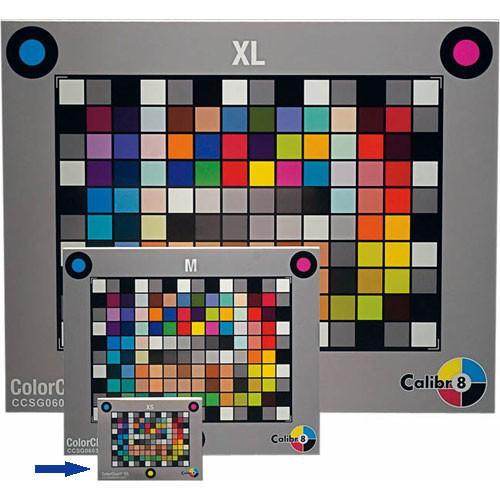 Calibr8 Digital Color Chart SG - Extra Small GCC80011