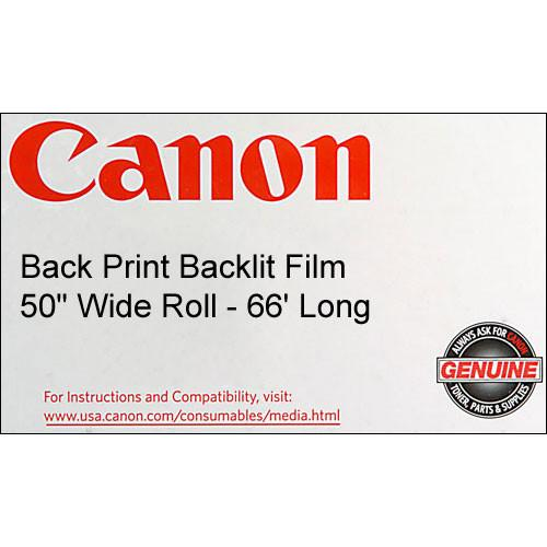 Canon Back Print Backlit Film - 50