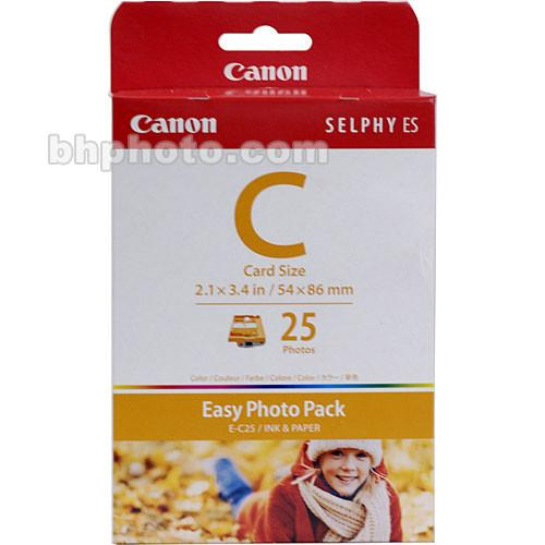 Canon  EC-25 Card Size Easy Photo Pack 1249B001