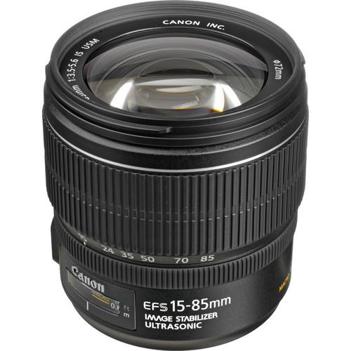 Canon EF-S 15-85mm f/3.5-5.6 IS USM Lens 3560B002