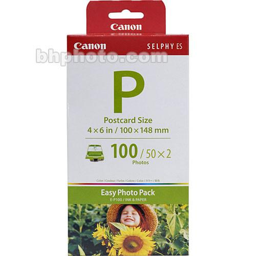 Canon EP-100 Postcard Size Easy Photo Pack 1335B001