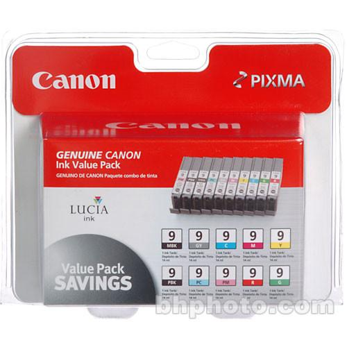 Canon  LUCIA PGI-9 Ink Cartridge 10-Pack 1033B005