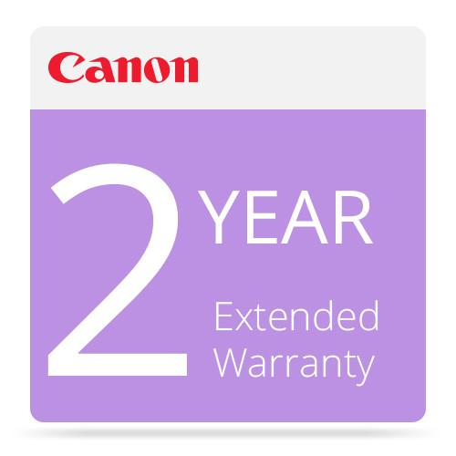 Canon Two-Years (2) Extended Warranty for Canon 1708B009