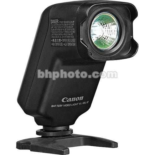 Canon VL-10Li II On Camcorder Battery Video Light 1729B001