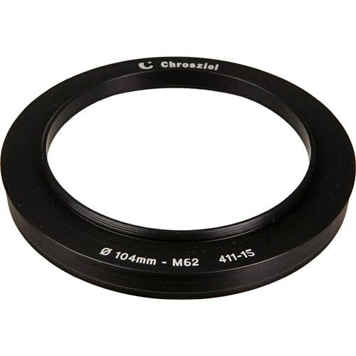 Chrosziel 411-15 104-62mm Step Down Adapter Ring C-411-15