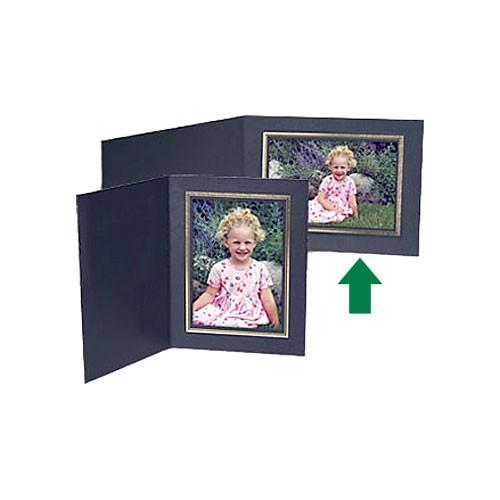 Collector's Gallery Black Classic Portrait Folder w/ PF5500-64