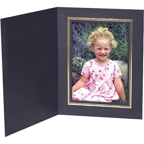Collector's Gallery Black Classic Portrait Folder w/ PF5500-810