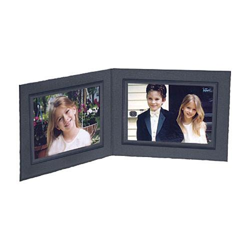 Collector's Gallery Black Double View Portrait Folder PF5202-75