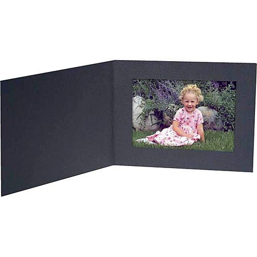Collector's Gallery Contemp. Black Portrait Folder w/o PF5400-54