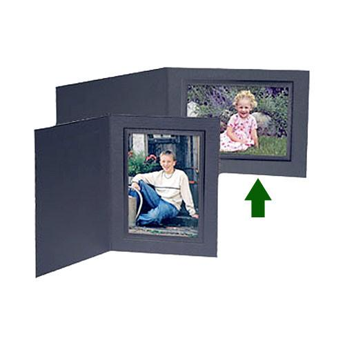 Collector's Gallery Conventional Black Portrait Folder PF5200-75