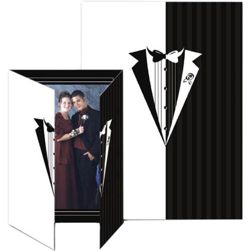 Collector's Gallery Gate Event Tuxedo Photo Folder, 5 x PF5851V