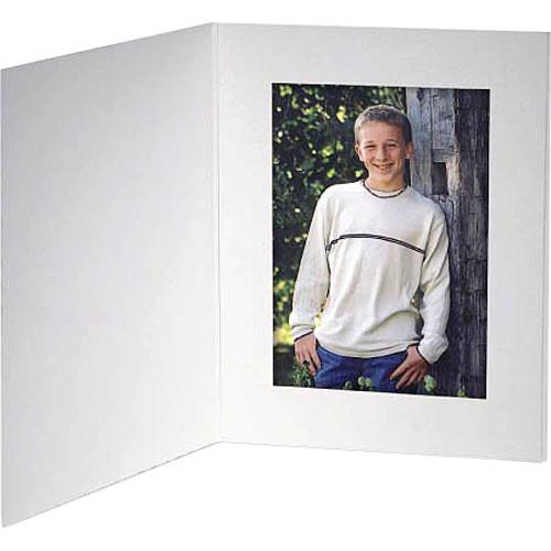 Collector's Gallery White Contemporary Portrait Folder PF5410-46
