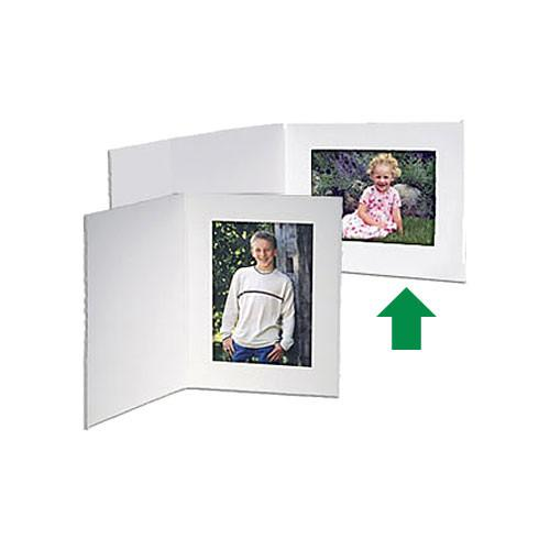 Collector's Gallery White Contemporary Portrait Folder PF5410-64