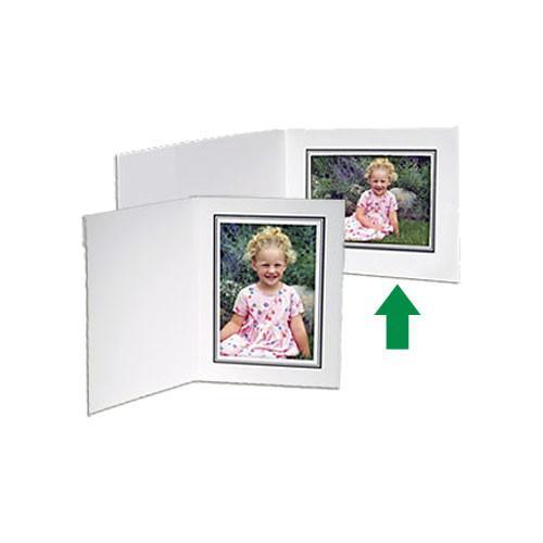 Collector's Gallery White Conventional Portrait Folder PF5210-54