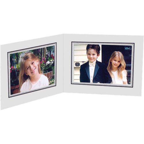 Collector's Gallery White Double View Portrait Folder PF5212-54