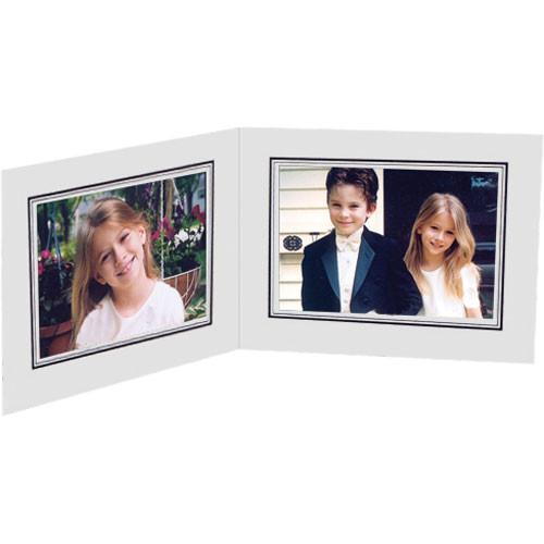 Collector's Gallery White Double View Portrait Folder PF5212-75