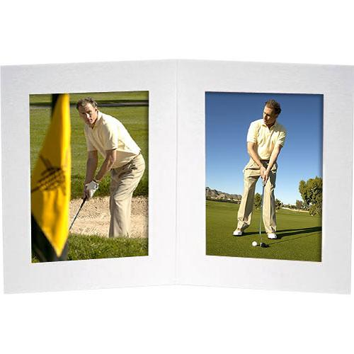 Collector's Gallery White Double View Portrait Folder PF5412-45