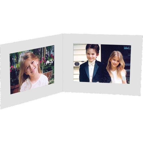 Collector's Gallery White Double View Portrait Folder PF5412-75