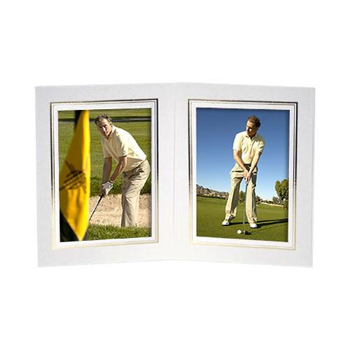 Collector's Gallery White Double View Portrait Folder PF5512-57