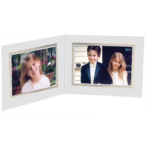Collector's Gallery White Double View Portrait Folder PF5512-75