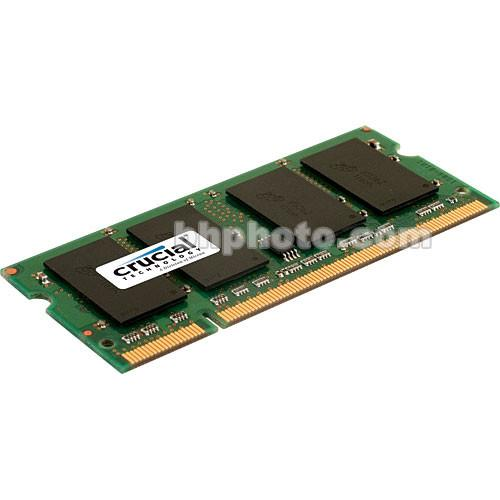 Crucial 2GB SO-DIMM Memory for Notebook CT25664AC667