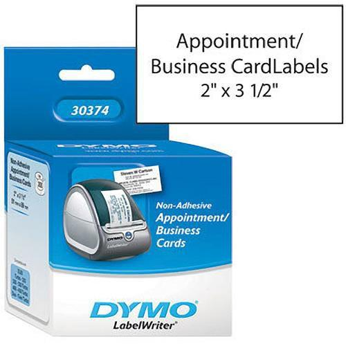 Dymo Appointment/Business Cards (2 x 3 1/2