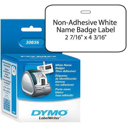 Dymo Non-Adhesive Badges (2 7/16 x 4 3/16