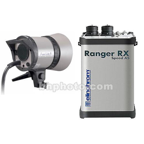 Elinchrom Ranger RX AS 1100W/s Kit with Ranger A Flash EL10276.1