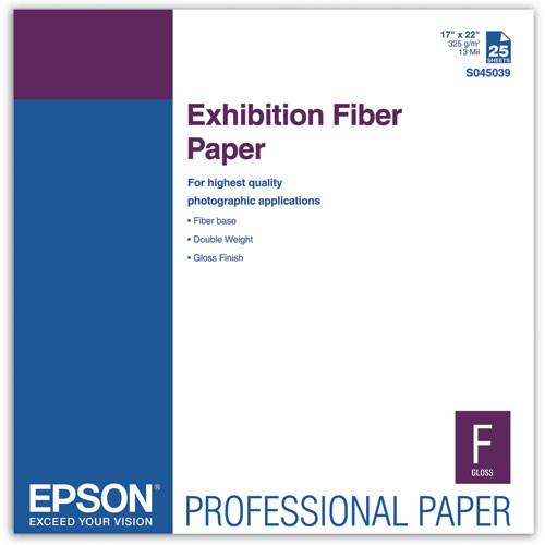 Epson  Exhibition Fiber Paper for Inkjet S045039